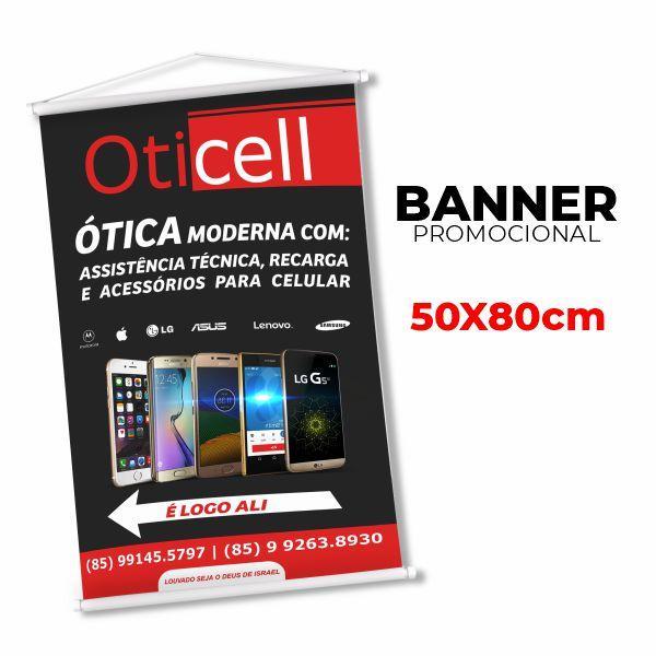 Banner 50x80cm