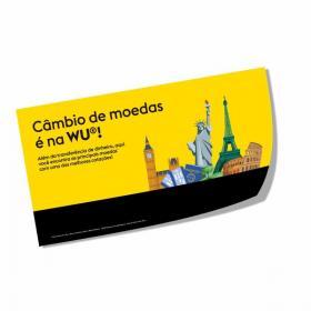 Adesivo Leitoso Impresso Vinil Branco  4x0  Corte Reto Brilho