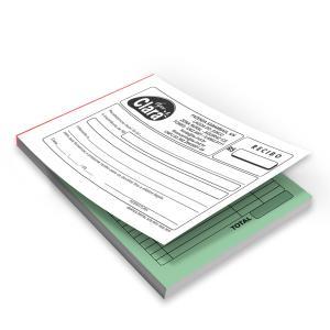 Bloco - Tam. 10x15cm - 1x0 - Autocopiativo Papel Autocopiativo 10x15cm 1x0  Colado