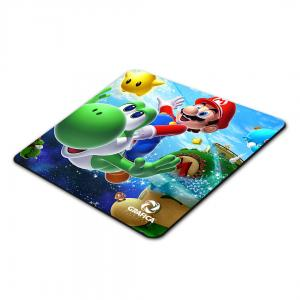 Mouse Pad  19x19cm 4x0 Base Borracha 3mm Corte Arrendondado