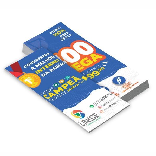 PANFLETOS - 20.000UNID. - 10X20CM - FRENTE E VERSO